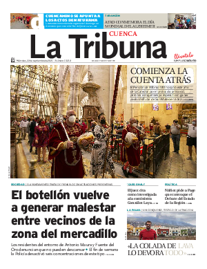 Portada La Tribuna de Cuenca